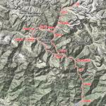L'itinéraire de tek du projet Hunku, vallée de Naar et Phu